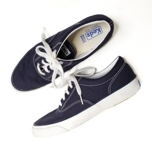 Keds Women's Anchor Canvas Navy Size 8 NWOB